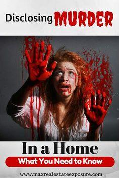 Disclosing Murder in a Home