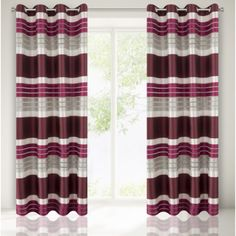 Bordovo sivy elegantny zaves do izby Curtains, Home Decor, Insulated Curtains, Homemade Home Decor, Blinds, Draping, Decoration Home, Drapes Curtains, Sheet Curtains