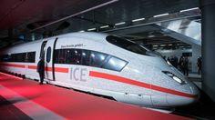Roter Teppich in Berlin zur Eröffnung der Schnellfahrstrecke München-Berlin (Freitag)