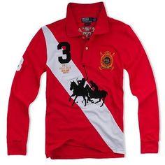 Ralph Lauren Men Long Sleeve Polos