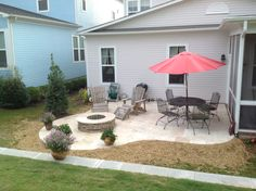 Our new patio!