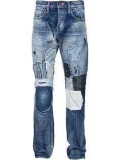 Prps Noir Patchwork Jeans - American Rag - Farfetch.com