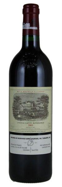 2001 Lafite-Rothschild. Type: Red Wine, Bordeaux Red Blends (Claret), Premier Cru (First Growth), 750ml. Region: France, Bordeaux, Pauillac. 540$ (13.500 Kc)