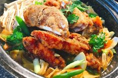 Fancy a hearty dish that is delectable and well-suited for a family feast? Claypot fish head is one that will whet the appetite and excite your taste buds. Some prefer serving the fish head whole, but I find this a hassle. You need a large quantity of oil and a...
