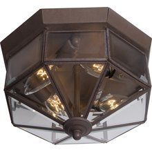 View the Maxim MX 6504  4-Bulb Flush Mount Indoor Ceiling Fixture - Glass Shade Included at LightingDirect.com.