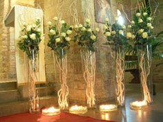 addobbi chiesa matrimonio con candele - Cerca con Google
