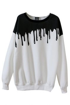 under $20:melty sweater  nu goth pastel goth punk goth creepy cute creepy kei fachin sweater top melty under20 under30 bh bella