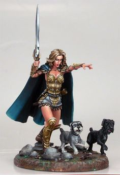 Dark Sword 5th Anniv - Melissa - Special Edition Miniatures - Miniature Lines