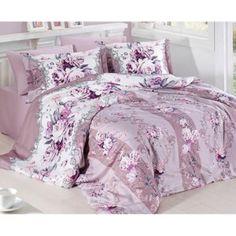 Saténové obliečky Vintage lila sb Floral Comforter, Comforter Sets, Duvet, Bedding, Comforters, Blanket, Furniture, Home Decor, Vintage