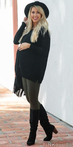 You can't go through fall with out a basic black sweater!