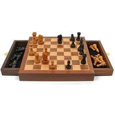 Lujo olivenholz backgammon s con fichas Manopoulos a mano 8