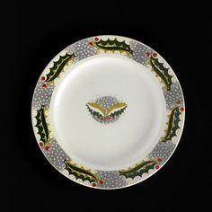 Christmas Pudding plate, Eric Ravilious, 1938