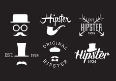Set of Hipster Labels