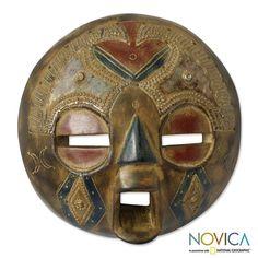 Novica Handcrafted Sese Wood 'Bakota Spirit' Sculpture