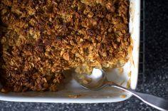 breakfast apple granola crisp | smittenkitchen.com