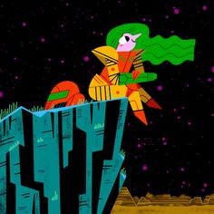 Metroid animation for BACK TO BITS, Andrew Kolb