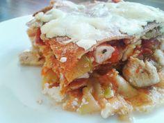fitrecepty: bezlepkové bielkovinové lasagne, skvelý recept na štíhlu verziu obľúbených lasagní ;-)