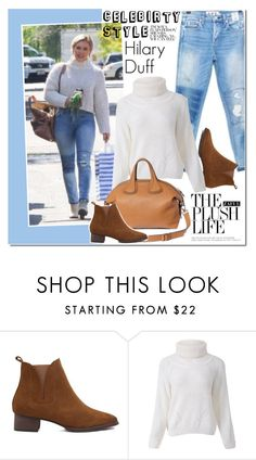 """Celebirty Style: Hilary Duff"" by vanjazivadinovic ❤ liked on Polyvore featuring hilaryduff, CelebrityStyle, polyvoreeditorial, Poyvore and zaful"
