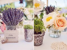 1000 images about provence on pinterest burlap mariage for Decoration table mariage