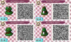 Link Dress QR Code Animal Crossing New Leaf