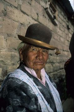 Inca farmer - Bolivia Thousands of years and millions of stories under her hat!