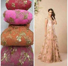 Summer Wedding Anarkali or Lehenga Lehenga Skirt, Lehnga Dress, Net Lehenga, Bridal Lehenga Choli, Floral Lehenga, Sari Blouse, Floral Maxi, Indian Designer Outfits, Indian Outfits