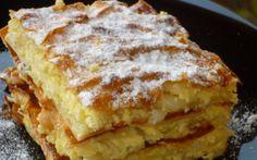 A világ legfinomabb túrós sütije, mire megiszod a kávéd, meg is sül! Romanian Desserts, Romanian Food, Cake Recipes, Dessert Recipes, Good Food, Yummy Food, Hungarian Recipes, Sweet And Salty, Cakes And More