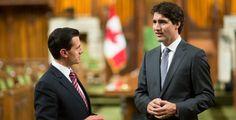 Confían presidentes de México y Canadá en lograr una actualización benéfica del TLCAN