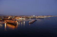 Almería at night