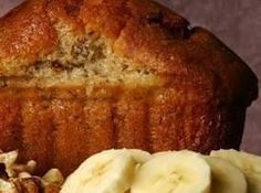 Banana Bread With Honey And Applesauce Recipe - 1/2 the honey and double the apple sauce