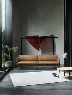 Visually light and elegant sofa series with deep seating for high . Available in various textiles from Kvadrat or Arve and in Silk leather from Camo Leathers. Comes as a & a Outliner for Muuto Sofa Design, Furniture Design, Scandinavian Sofas, Scandinavian Design, Berlin Design, Elegant Sofa, Three Seater Sofa, Interior Architecture, Living Room