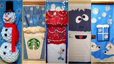 Bring some good cheer to your classroom with this holiday classroom doors and winter classroom door ideas. Diy Christmas Door Decorations, Christmas Door Decorating Contest, Christmas Classroom Door, Classroom Decor, Christmas Ideas, Preschool Classroom, Christmas Projects, Christmas Time, Winter Theme