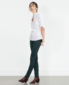SKINNY TROUSERS-Skinny-Trousers-WOMAN-SALE | ZARA United States
