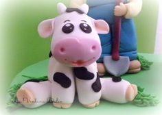 Vaca de la tarta Granja.