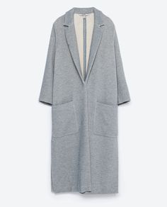 ZARA - COLLECTION AW15 - LONG COAT