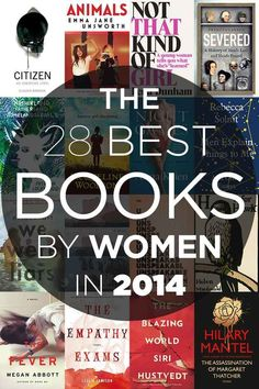 The 28 Best Books By Women In 2014