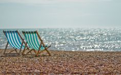 Chairs Beach hd Wallpaper