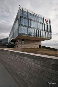 Adobe Utah Technology Campus | Architecture - curtain wall, glass, fins, louvers by Steel Encounters www.steelencounters.com