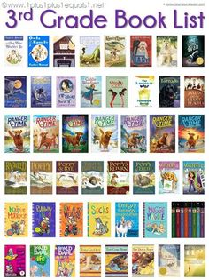 Grade Reading List ~ Book List for GradeYou can find Third grade reading and more on our Grade Reading List ~ Book List for Grade