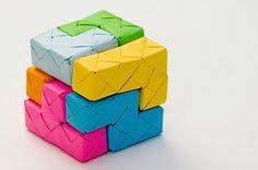 origami tetris puzzle