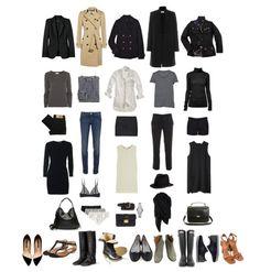 escenciales en un closet