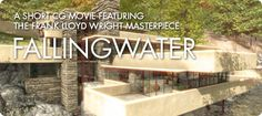 Thanks to CGI, we can witness the construction and take a tour of the iconic Frank Lloyd Wright masterpiece, Falling Water http://www.etereaestudios.com/docs_html/fallingwater_htm/fallingwater_mov_vimeo.htm