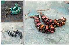 Matubo Rulla Arc Seed Beads Jewelry Making Beaded Earrings