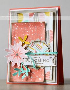 Happy Stampin´ : Stampin' Up! - Happy Blooming Birthday