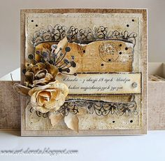 Vintage style card by Dorota_mk: Eighteen :)