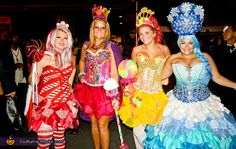 Candyland Characters Costume - Halloween Costume Contest via @costumeworks