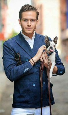 """#cute #doggystyle #doggie #shades #gorgeous #guy #bracelet """"killersmile"""