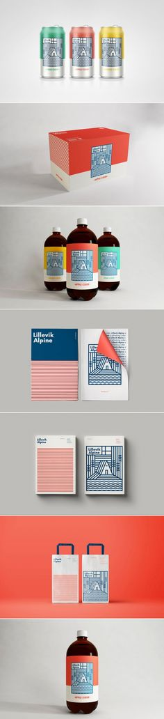 Lillevik Alpine Cider Serves Up Great Design — The Dieline | Packaging & Branding Design & Innovation News