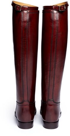 Equestrian Boots, Western Boots, Bootie Boots, Shoe Boots, Men's Boots, Mens Riding Boots, Red Knee High Boots, Alberto Fasciani, Burberry Boots