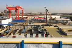 Slurry Separation System: It is an indispensable process in the construction process of slurry shield machine. The mud-water system is closely related with the selection of shield machine, tunneling speed, geological conditions, etc. different geological conditions determine the different patterns of mud and water system.